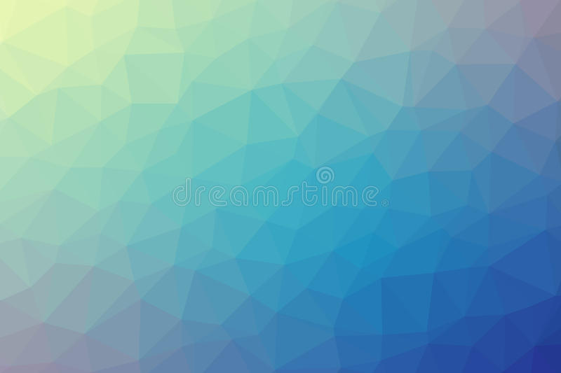 Abstract colorful polygon gradient background royalty free stock photos