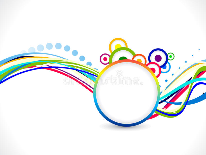 Abstract colorful rainbow background vector illustration