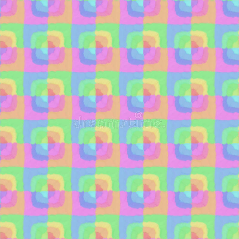 Abstract colorful rectangle seamless pattern stock photo