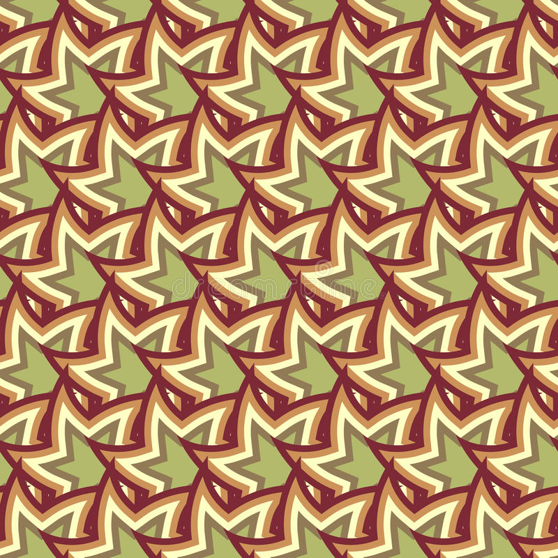 Abstract Colorful Seamless Geometric Pattern