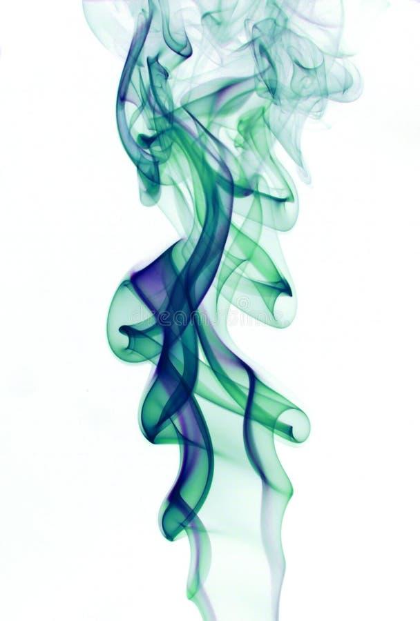 Abstract colorful smoke - smoke backdrop royalty free stock image