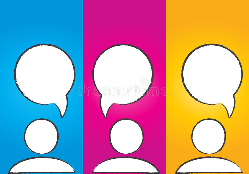 Download Abstract Colorful Social Media Dialog Bubbles Stock Images - Image: 27341594