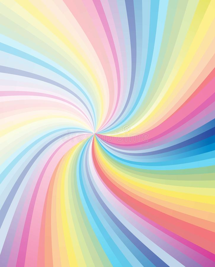 Download Abstract Colorful Stripe Swirl Royalty Free Stock Photography - Image: 13555027