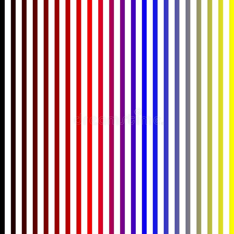 Abstract Colorful strips white background shaded strips vivid vector illustration wallpaper. Many uses for advertising, book page, paintings, printing, mobile vector illustration