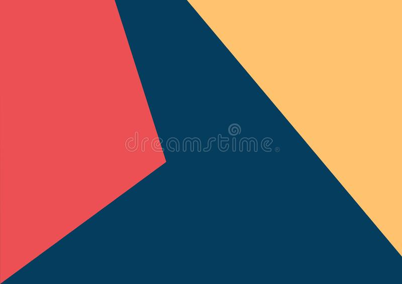 Abstract colorful  triangle background. Greeting card ,gift card template , texture effect stock photo