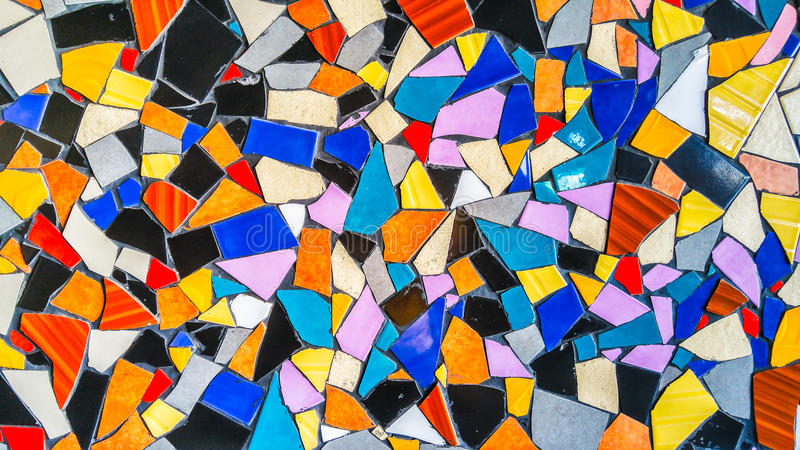 Abstract Colorful Triangle Tile Glass Background Texture. Abstract Colorful Triangle Tile Glass Background stock image
