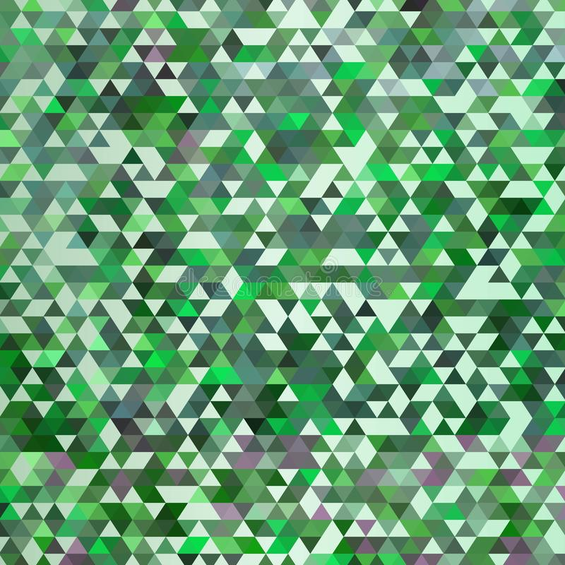 Abstract colorful vector background with triangles. Shiny geometric mosaic. Green triangle pattern. eps 10. Abstract colorful vector background with triangles vector illustration