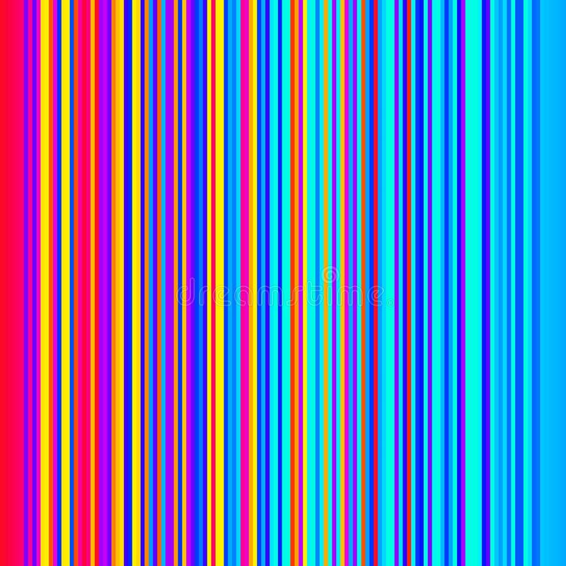 Abstract colorful horizontal striped background stock photo