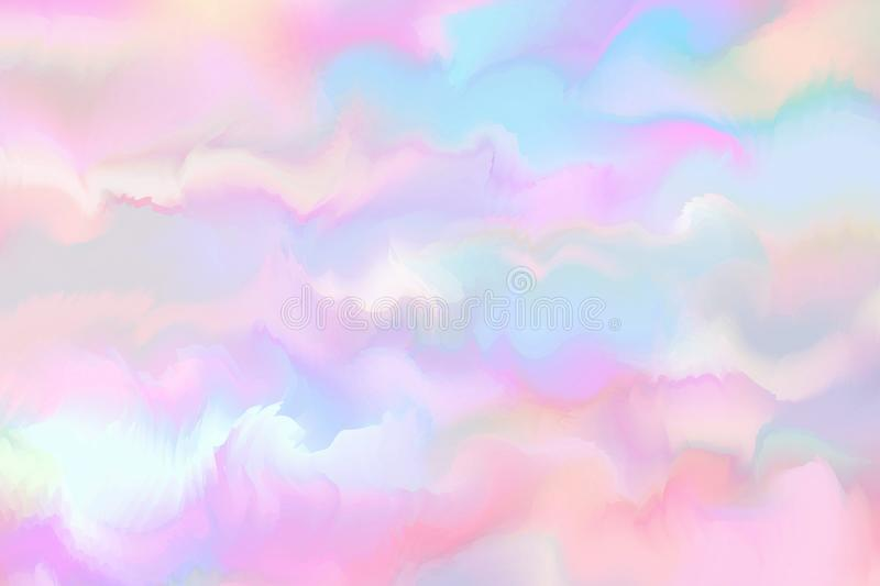Abstract colorful watercolor for background. Digital art painting.  vector illustration