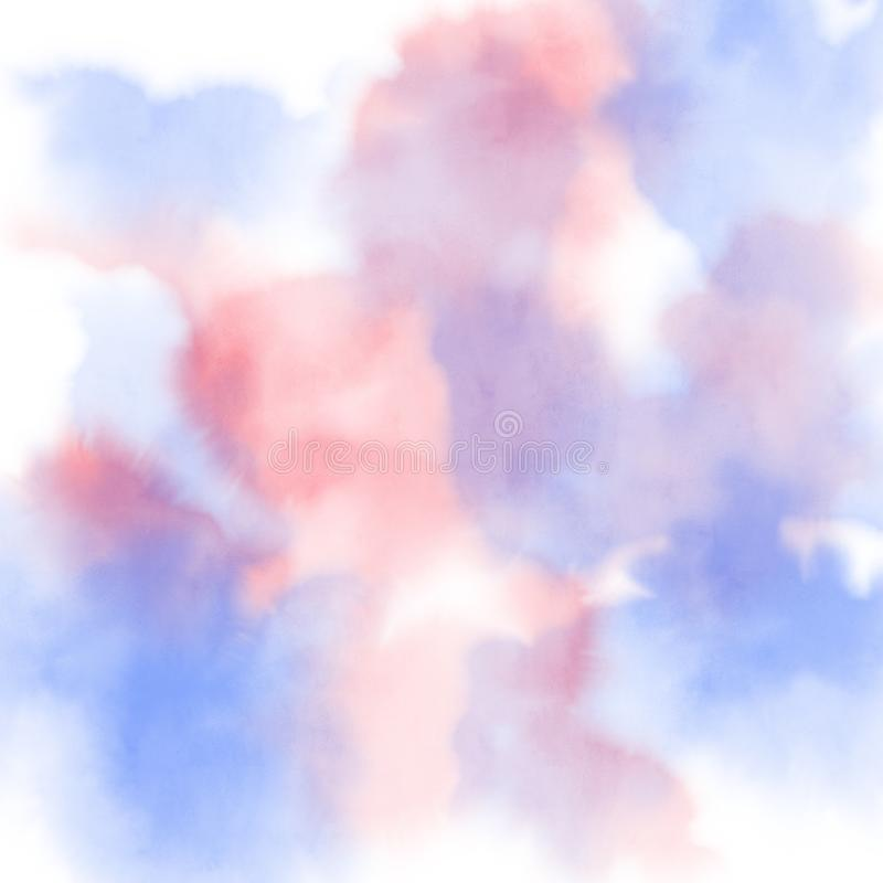 Abstract colorful watercolor for background,digital painting han. D drawn for design vector illustration