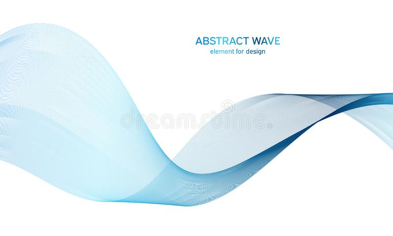 Abstract colorfull wave element for design. Digital frequency track equalizer. Stylized line art background.Vector illustration. Wave with lines created using royalty free stock photo