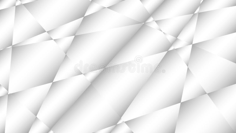 Abstract colorless background with gray and white gradient. Vector illustration with broken glass optics royalty free illustration