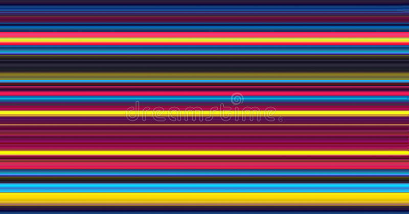 Abstract Colour Stripes royalty free illustration