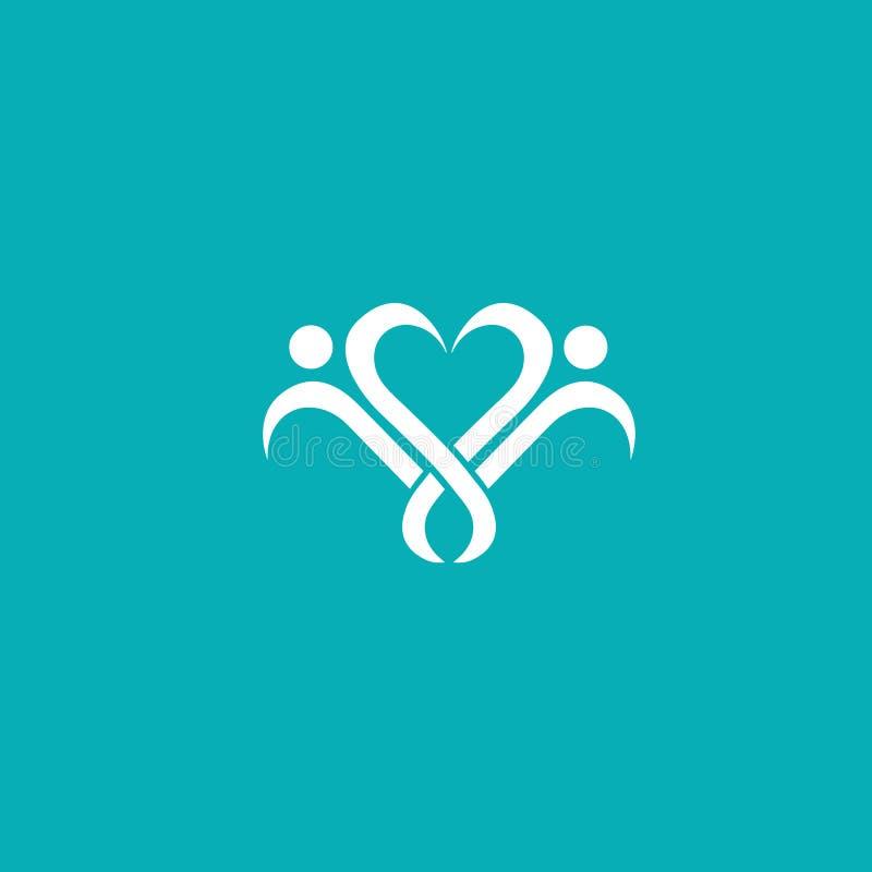 Abstract community logo icon vector design. Creative agency, social work, teamwork, business, advertising vector logo vector illustration