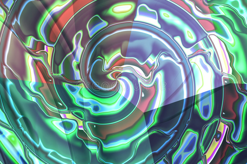 Abstract composition, spiral royalty free stock photo