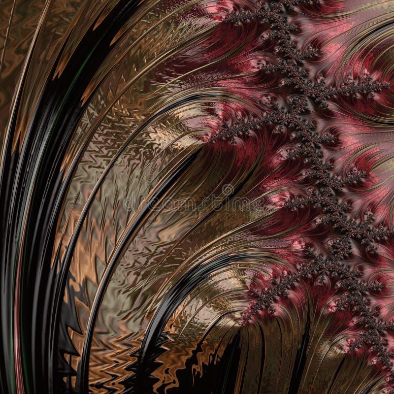 Abstract Computer geproduceerd Fractal ontwerp stock foto