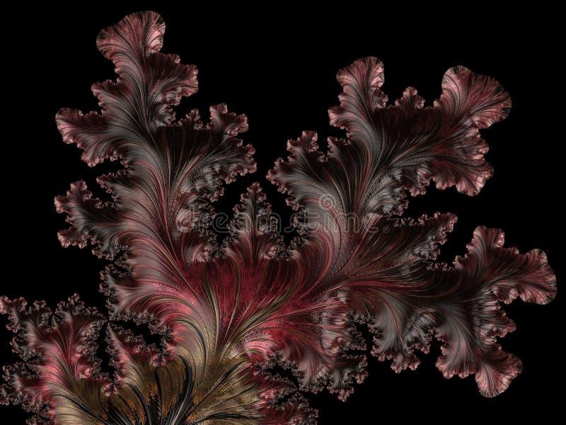 Abstract Computer geproduceerd Fractal ontwerp royalty-vrije stock afbeeldingen