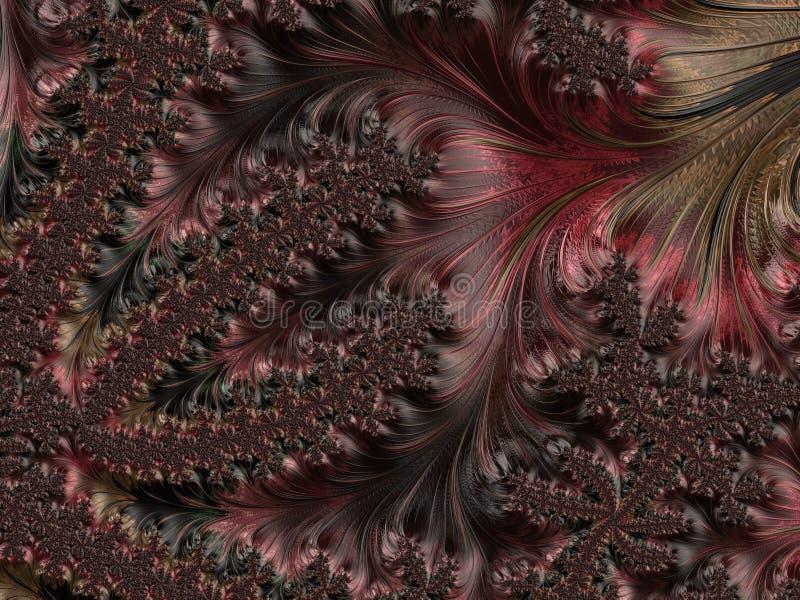 Abstract Computer geproduceerd Fractal ontwerp stock afbeelding