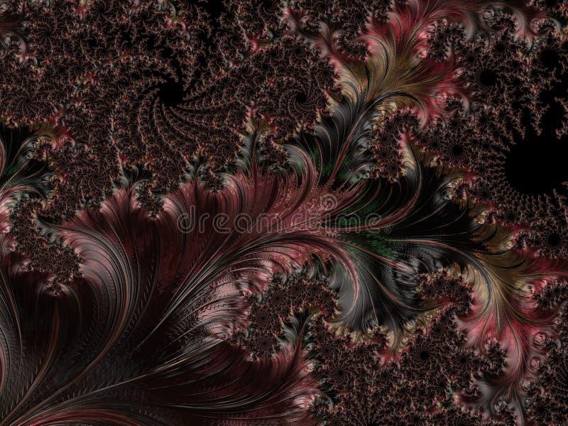 Abstract Computer geproduceerd Fractal ontwerp royalty-vrije stock foto