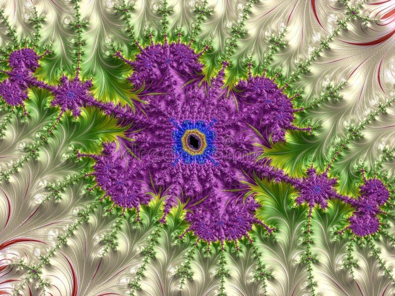Abstract Computer geproduceerd Fractal ontwerp royalty-vrije stock fotografie