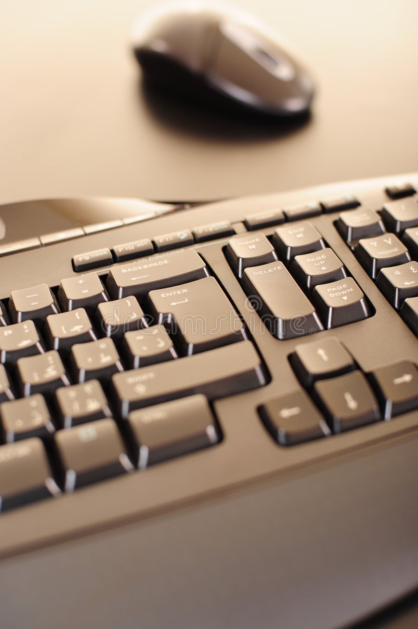 Download Abstract computer keyboard stock photo. Image of office - 5555110