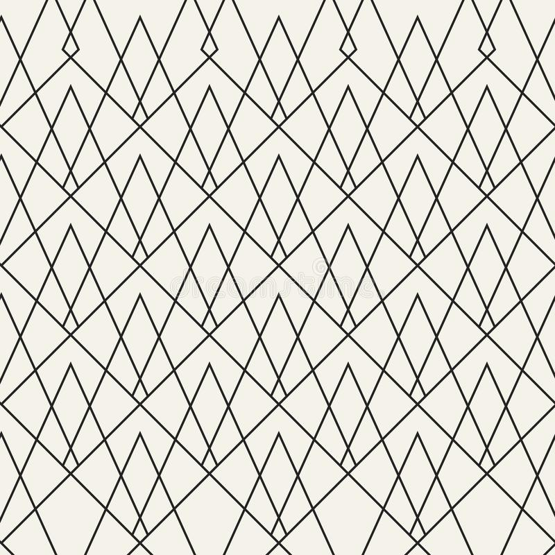 Abstract concept vector monochrome geometric pattern. Black and white minimal background. Creative illustration template vector illustration