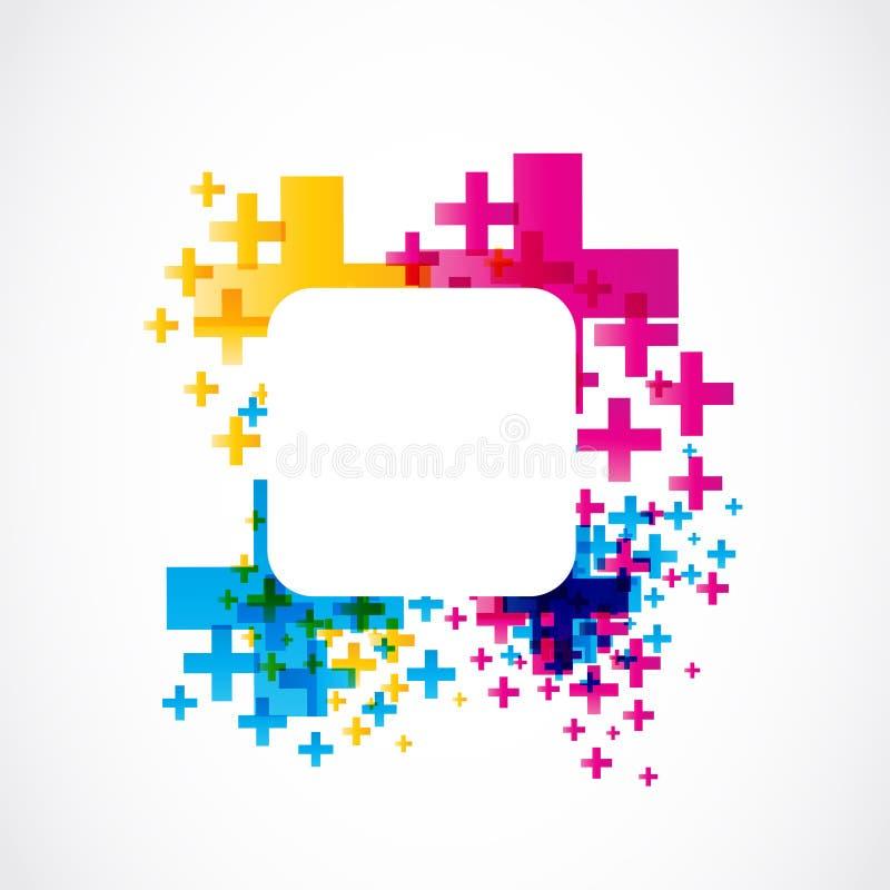 Abstract conceptontwerp vector illustratie