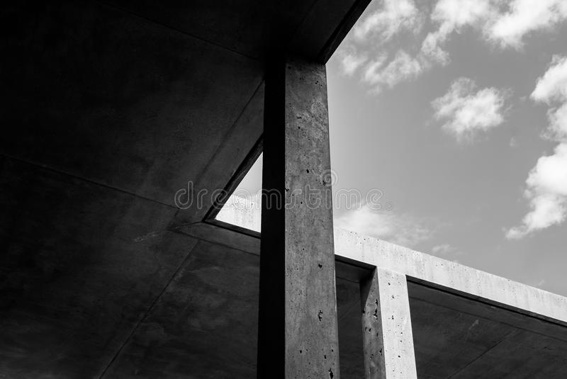 Abstract Concrete Architecture Detail royalty free stock images