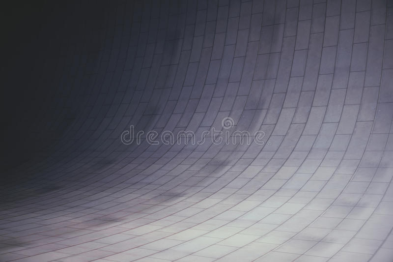 Abstract concrete room royalty free illustration