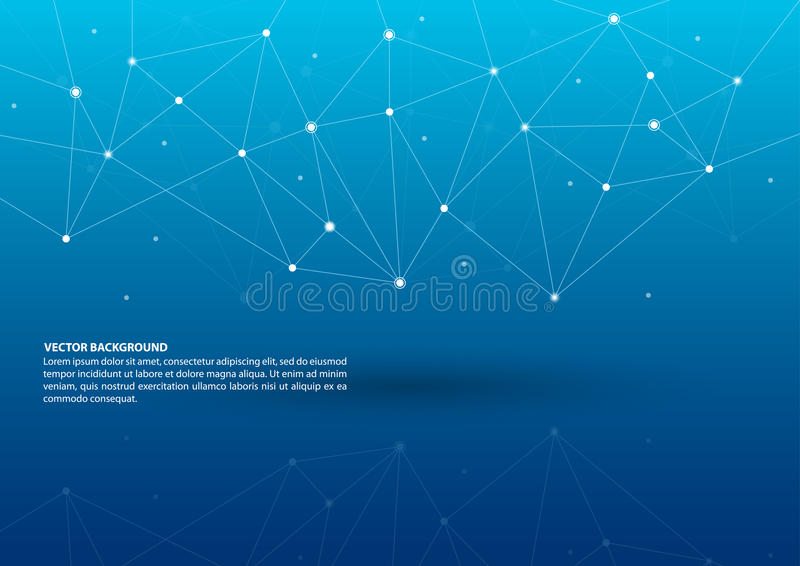 Abstract connecting theme background stock vector illustration of abstract connecting theme background with blue color and reflection malvernweather Image collections
