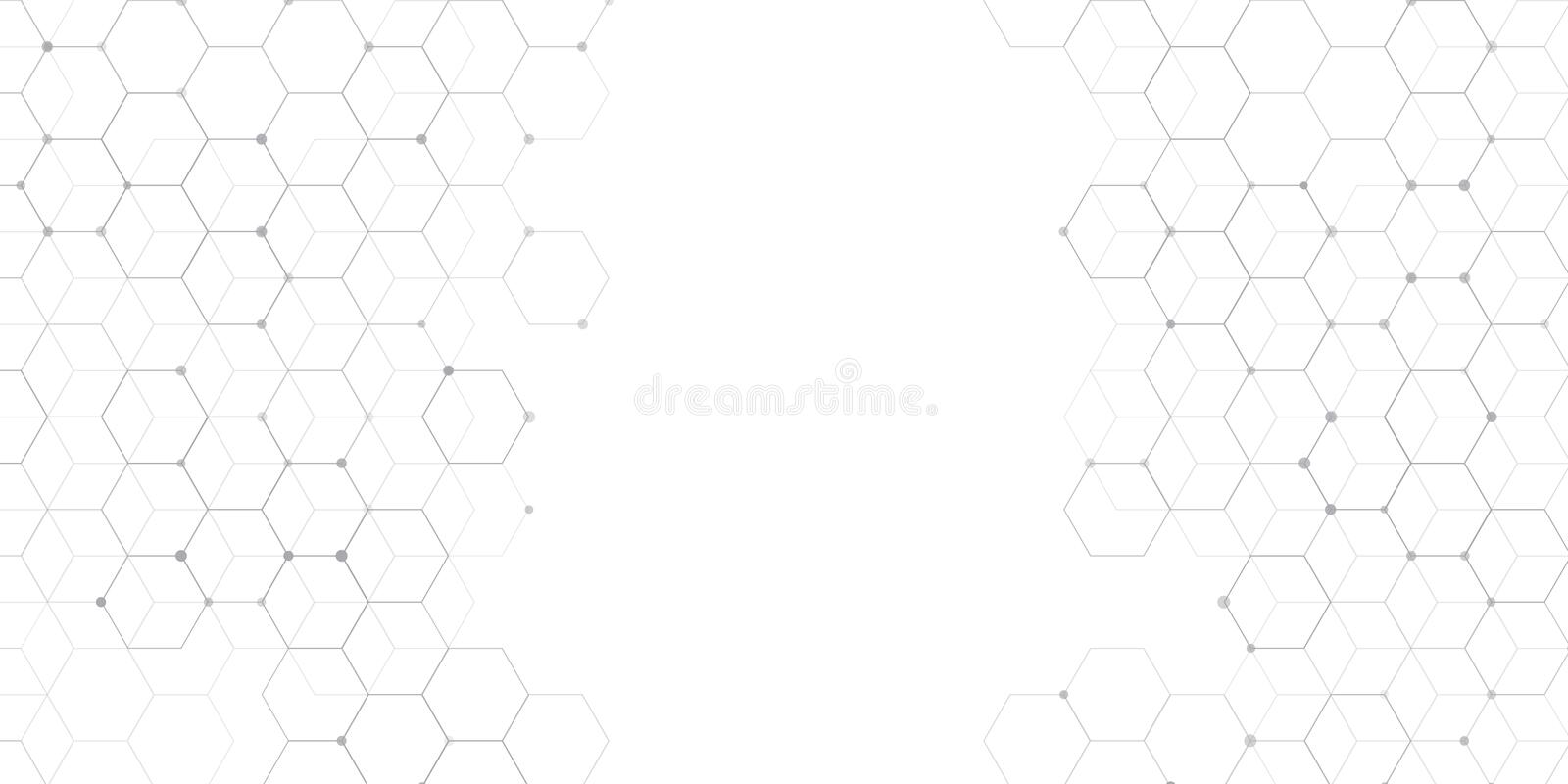 Abstract connections banner design vector illustration
