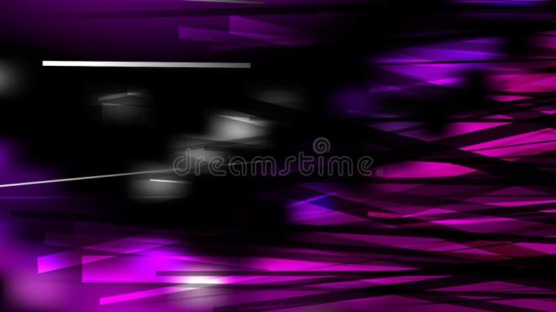 Abstract Cool Purple Chaotic Intersecting Lines Background Vetor Art ilustração do vetor