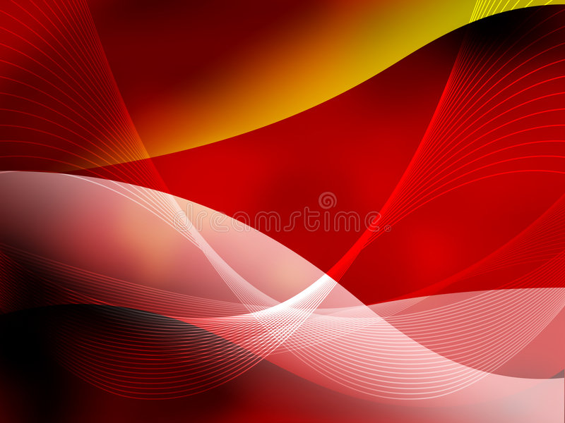 Abstract Cool waves royalty free illustration