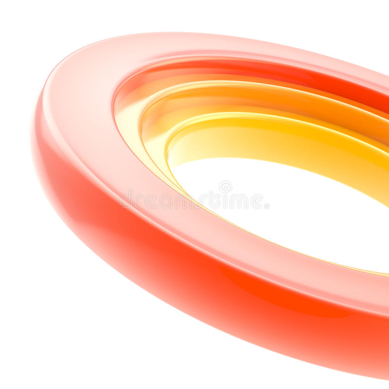 Abstract Copyspace Torus Background Stock Image