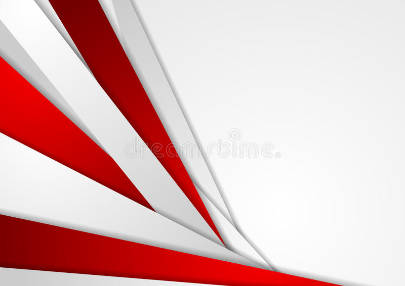 Abstract corporate red grey tech background royalty free illustration