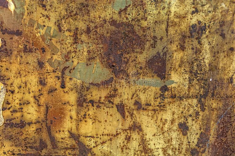 Abstract corroded colorful rusty metal background royalty free stock photos