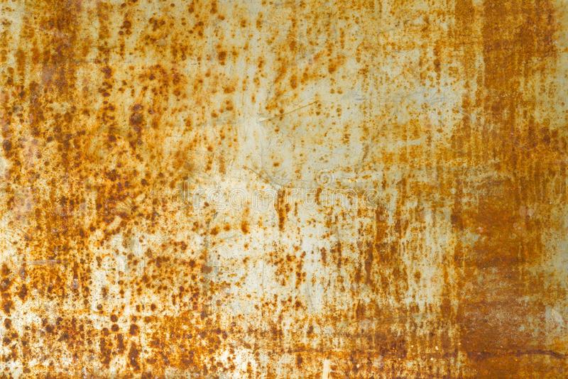 Abstract corroded rusty metal background texture, gray brown royalty free stock photos