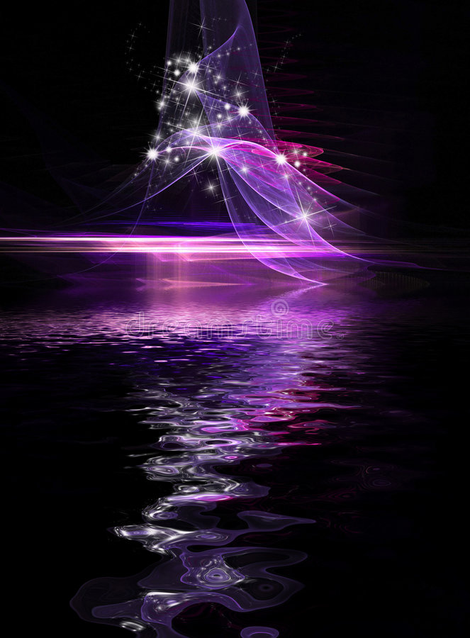 Download Abstract Cosmic Holiday Background Stock Illustration - Illustration: 7048938