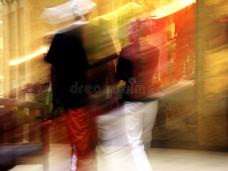 Abstract of Couple stock image