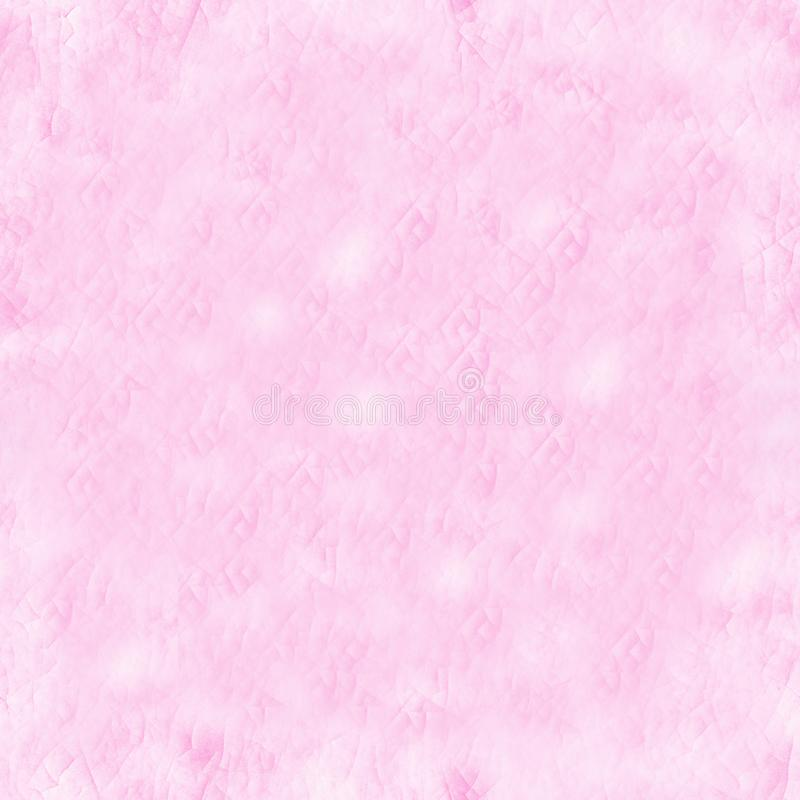 Abstract cracked pink background. Blush color. Ceramic pattern. Seamless texture royalty free stock photo