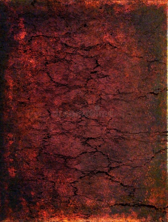 Abstract cracked texture stock illustration
