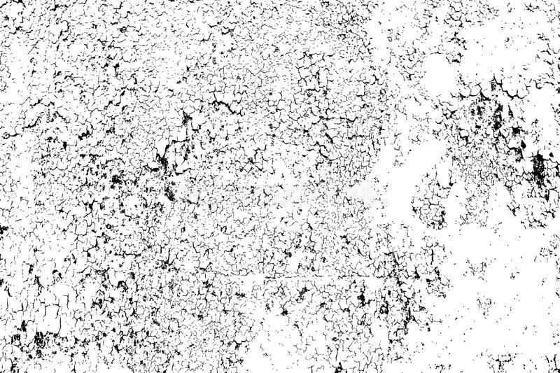 Abstract cracked texture template - easy to create abstract scratched, cracked effects royalty free illustration