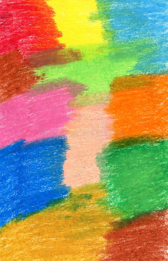 Abstract crayon background. Decoration design element. Hand draw royalty free stock images