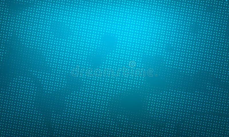 Abstract creatief vectormalplaatje als achtergrond Gradiënt en halftone royalty-vrije illustratie