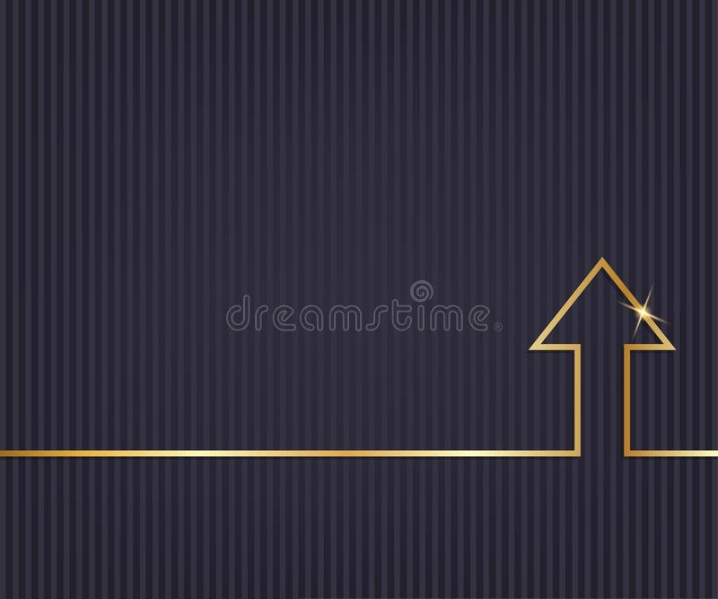 Abstract creative concept line draw background for web, mobile app, illustration template design, business infographic, page,. Brochure, banner, presentation stock illustration