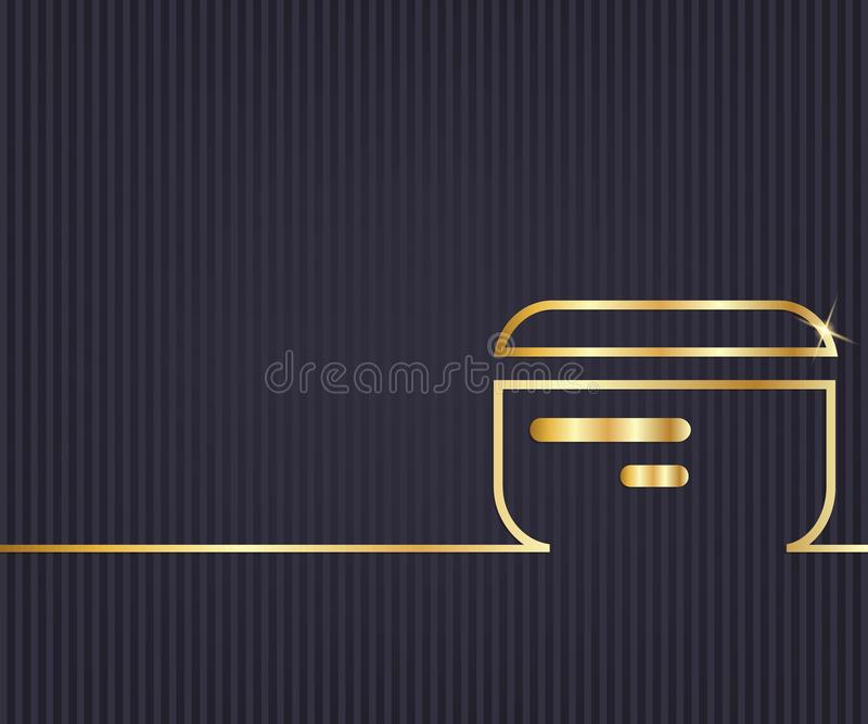 Abstract creative concept line draw background for web, mobile app, illustration template design, business infographic, page,. Abstract Creative concept royalty free illustration