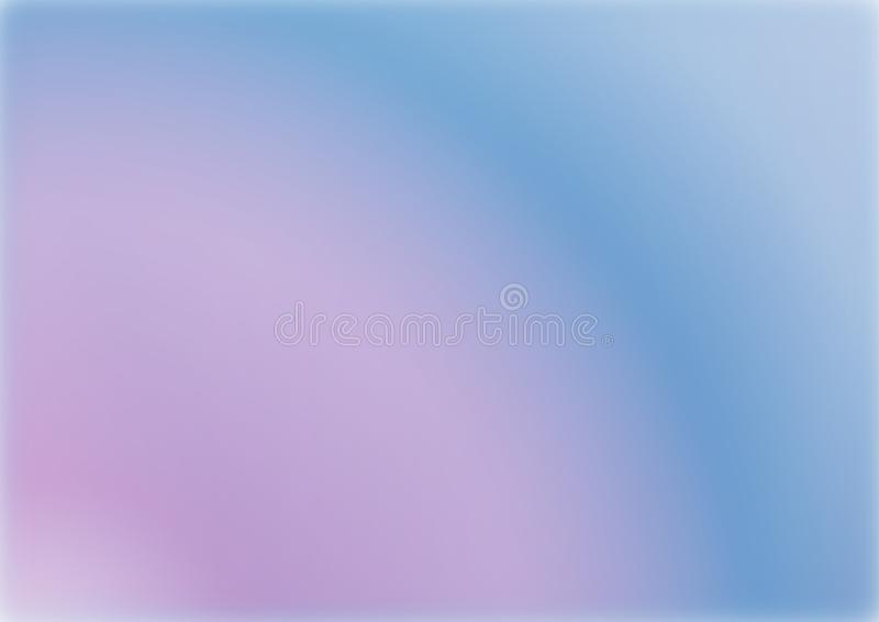 Abstract creative concept multicolour gradient blurred background . royalty free illustration