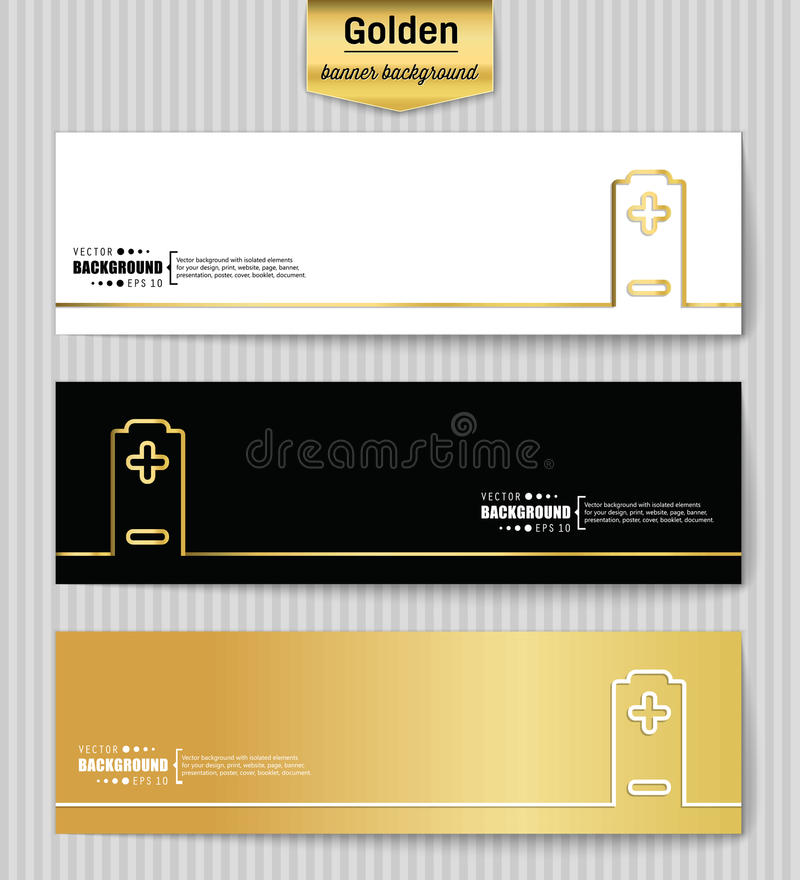 Abstract Creative concept vector background for Web and Mobile Applications, Illustration template design, business. Abstract Creative concept gold vector stock illustration