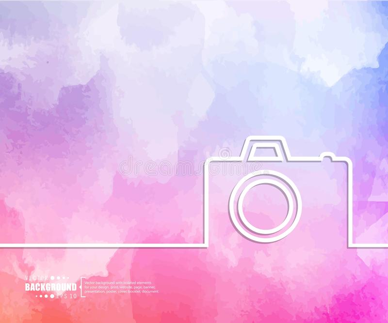 Abstract Creative concept vector background for Web and Mobile Applications, Illustration template design, business. Infographic, page, brochure, banner royalty free illustration