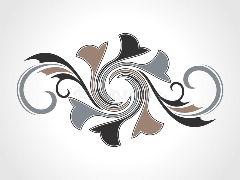 Download Abstract Creative Decorative Element Stock Vector - Image: 13868796